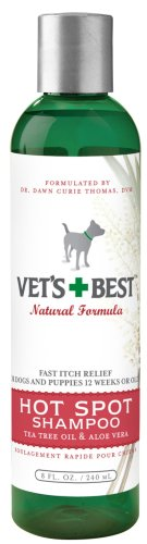 Vets Best Spot Shampoo 8 Ounce product image