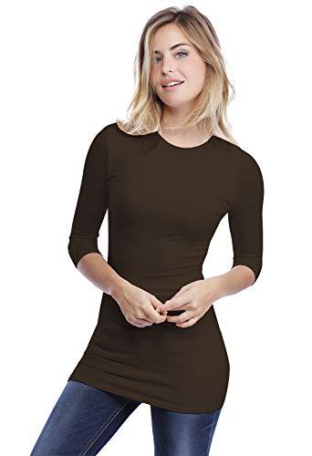 3 T Donna 4 Choco Vous shirt Paris Rendez A Manica nwTY8qEx4
