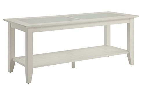 Convenience Concepts Carmel Coffee Table, White ()