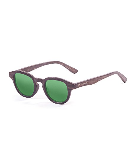 Paloalto Sunglasses Laguna Beach Lunettes de Soleil Mixte Adulte, Wood Dark Brown