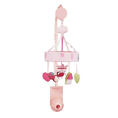 Mobile Musical Zebra Pink - YGPFTy Songs Musical Mobile Baby Crib Rotating Music Box Lovely Pink Or White Star Baby Toy in Cot Rotate Stroller Rattle