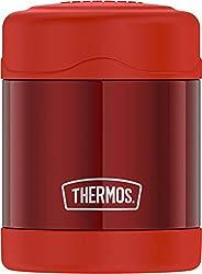 Thermos Funtainer - Tarro de comida de 10 oz, Pimienta caliente roja, 10 onzas (295.73ml), 1