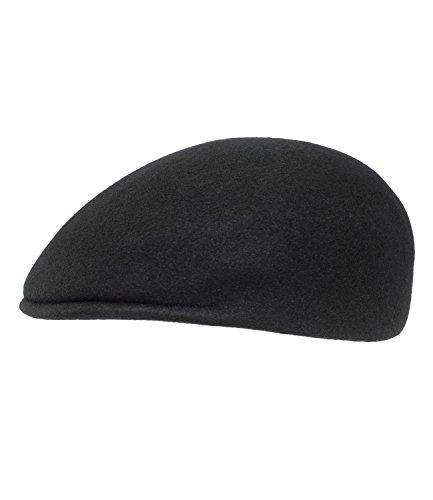Herren Cap Hut Mütze Schiebermütze Schirmmütze Schwarz 54 55 56 57 58 59
