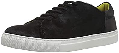 Joules Women's Solena Sneaker Black 3 Medium UK (5 US)