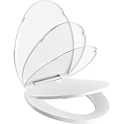 Pacific Bay Bellingham Elongated Soft-Close Toilet Seat