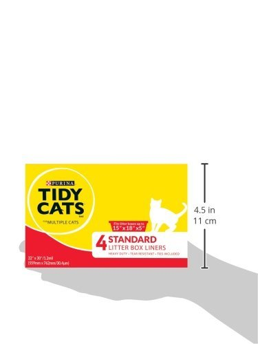 Tidy Cats Cat Box Liners For Multiple Cats 12 Liners