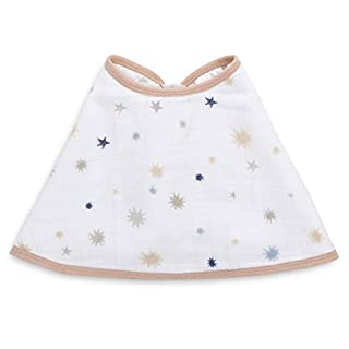 Aden by aden + anais Classic Burpy Bib, to The Moon - Shine Bright