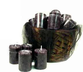 Witches Brew Single Votive Candle - Pure - Rare Resin, Herb and Essential Oils