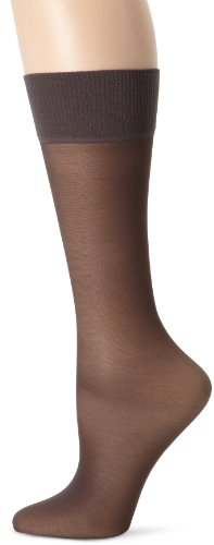 Hanes Alive 2-pair Full Support Sheer Knee Highs, Size:1SIZE Color:Barely Black