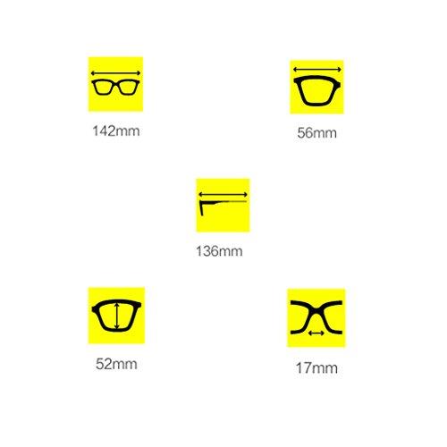 GAOYANG Vendimia D Marco De De Polarizadas Grande De Mujer Gafas Y Del Marea Sol Color C Caja Arte Literatura Sol Redondo La Gafas Redondas La Femenino De 4OrR8qw4n