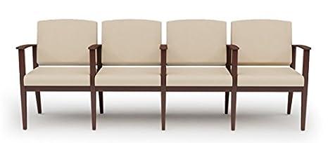 Amazon.com: Lesro K4403G5 Amherst 4 Seat Sofa w/ Center Arms ...