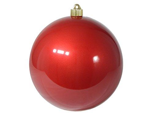 Christmas By Krebs CBK72955 Shatterproof UV-Resistant Christmas Ball Ornaments, 8
