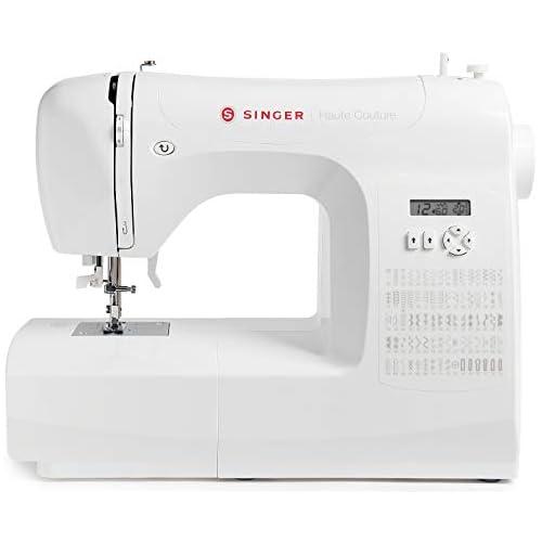 chollos oferta descuentos barato Singer Haute Couture Máquina de coser electrónica de edición exclusiva 80 puntos de costura portátil eléctrica profesional automática costura creativa fácil para principiantes