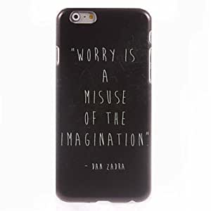 JOE Don't Worry Design Hard Case for iPhone 6