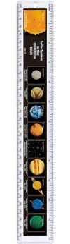 Safari 100319 Solar System Ruler- Pack of 12 Solar System Ruler