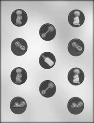 Baby Shower Mints Candy Mold 90-11514