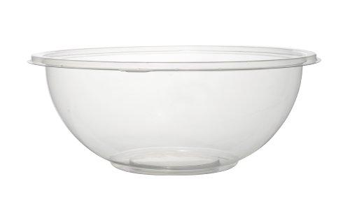 Fineline Settings Super Bowls Clear  320 Oz. Salad Bowl PET 25 Pieces