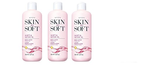 Avon Skin So Soft Soft and Sensual Body Lotion Lot of 3