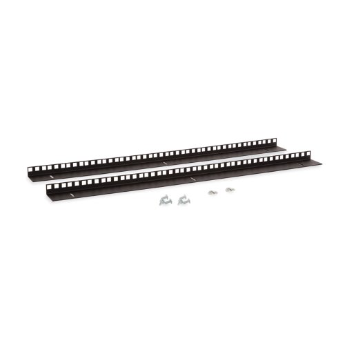 15U LINIER Wall Mount Vertical Rail Kit - Cage Nut