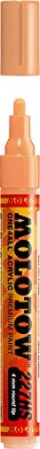 Molotow ONE4ALL Acrylic Paint Marker, 4mm, Peach Pastel, 1 Each - 4 Mm Peach