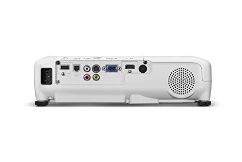 Epson PowerLite Home Cinema 740HD Portable WXGA 720p 3LCD Projector 3000 lumens (Certified Refurbished)