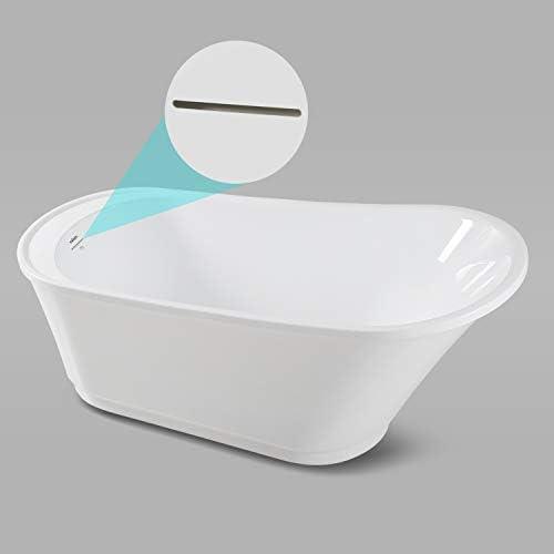 FerdY Langkawi 59″ Acrylic Freestanding Bathtub