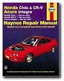 Honda Civic, CR-V & Acura Integra 1994-2001