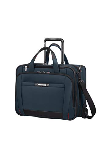 Samsonite Pro-DLX5 - Laptop Rollkoffer, 46 cm, 34.5 Liter, Oxford Blue