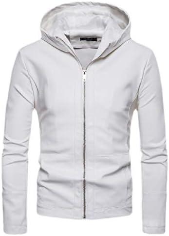 Joe Wenko Men Zipper Coat Big Tall Stand Collar Fleece Jacket Fall Winter Sweatshirt
