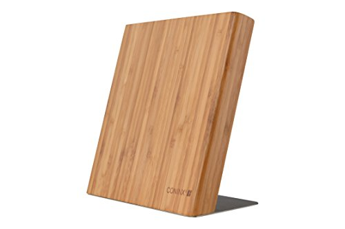 Magnetic Bamboo Knife Block/Holder (Knives Not Included) by Coninx - Magnetic Knife Board Includes 5 Year Warranty (Rada Butcher Block compare prices)