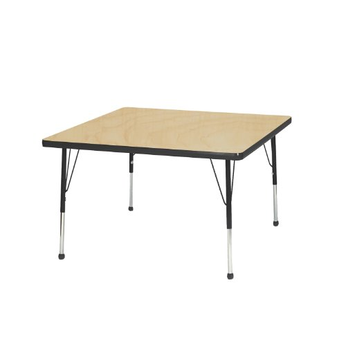 Creative Colors M36SQBL-SB Activity Table, Standard Heigh...