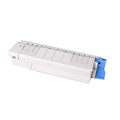 Compatible with OKI 43872308 Toner Cartridge for OKI C710DN C711DN C5600 C5700 C5800 C5900 C6100 C6150 C5650 C5850 Color Laser Printer Cartridge,Blue