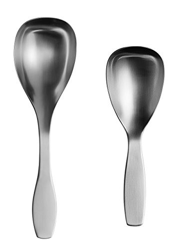 IITTALA COLLECTIVE TOOLS SERVING SPOONS SMALL AND LARGE (Tools Serving Collective Spoon)