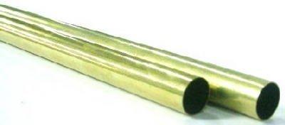 K & S PRECISION METALS 8132 9/32 x 12 Round Brass Tube