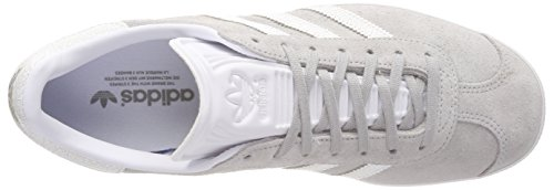 Adidas W Two Grey Gris para Gazelle White Gimnasia Zapatillas 0 Footwear White Mujer de Footwear UrUq4w