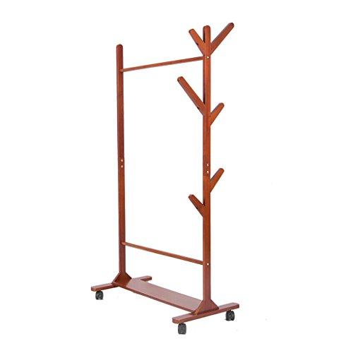 Amazon Com Peaceipus Solid Wood Coat Rack Modern