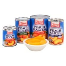 Seneca Foods Corporation Diced Peaches in Light Syrup, 108 Ounce -- 6 per case.