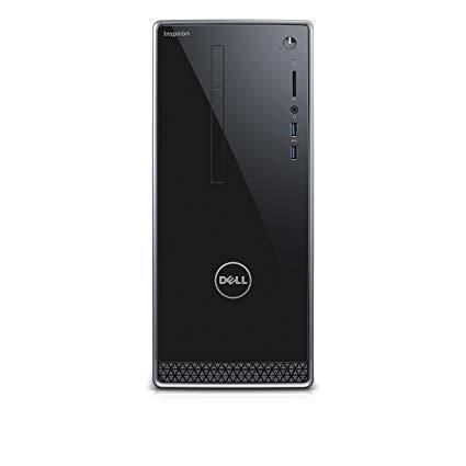 Dell Inspiron 3650 High Performace Tower Desktop, Intel Core i3-6100 Processor 3.70 GHz, 6GB DDR3L RAM, 1TB 7200RPM HDD, DVD, WIFI, Bluetooth, HDMI, VGA, Windows10 - Wave MaxxAudio Pro