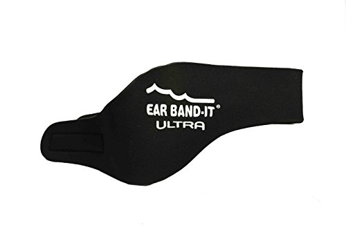 EAR BAND-IT ULTRA Swimming Headband - Best Swimmers Headband - Keep Water Out, Hold Earplugs In - Doctor Recommended - Water Protection - Secure Ear Plugs - Invented by ENT Physician