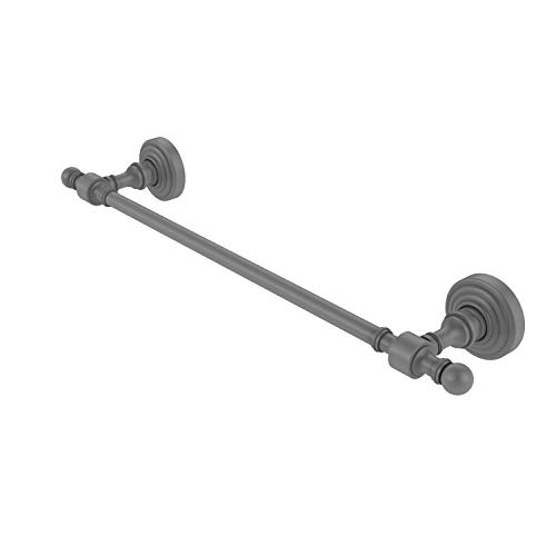 Allied Brass RW-31/24-GYM Retro Wave Collection 24 Inch Towel Bar Matte Gray