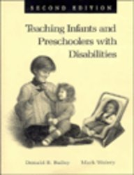 Teaching Infant and Preschoolers With Disabilities, (1 COLOR REPRINT) (2nd Edition)