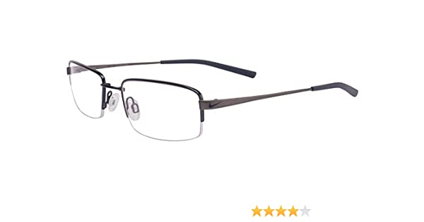 191eb77813 Amazon.com  Nike Eyeglasses 4192 441 New Blue Charcoal Demo 51 19 140   Sports   Outdoors