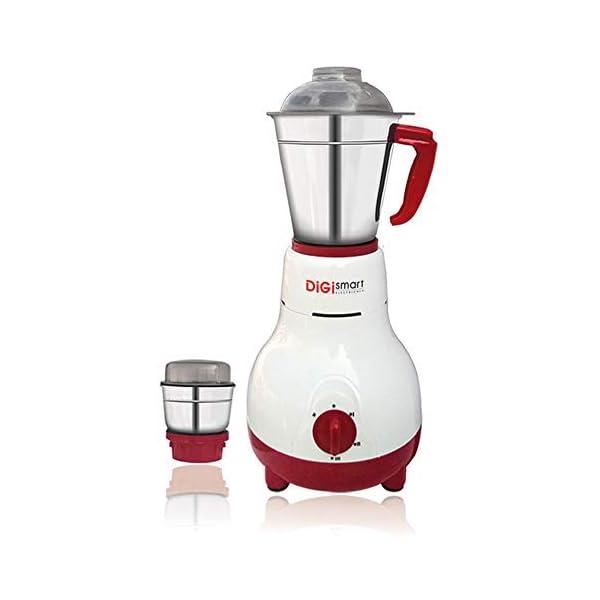 Digismart Kitchenmate Mixer Grinder- 600 Wattage Full Abs Body 2 Jar