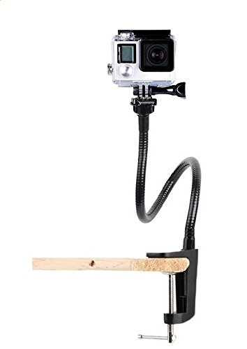 Flexible Clamp Stand,Support by Magnetic Suction Webcam Mount for Logitech C270 C310 C270i 25 inches lenght
