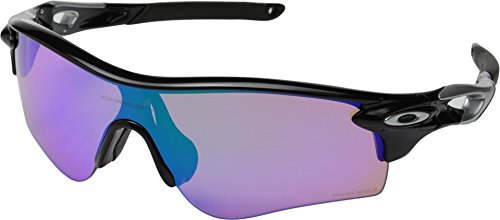 Oakley Men's Radarlock Path OO9181-42 Shield Sunglasses, Polished Black, 138 - Radarlock Path Prizm