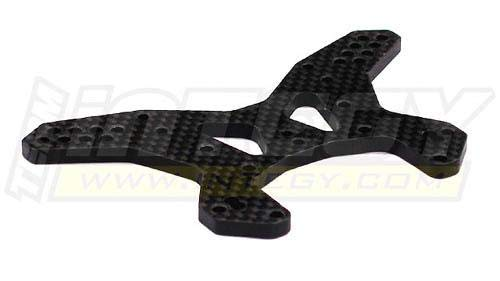Integy RC Model Hop-ups T8220 Carbon Fiber Rear Shock Tower for Losi Ten-T Truggy & SCTE