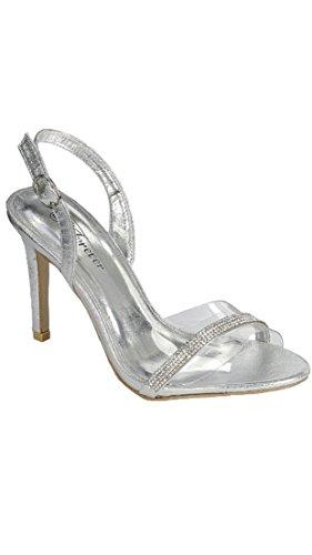 03 Silver Women Sandal - 8