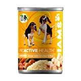 Iams ProActive Health Ground Savory Dinner with Tender Chicken and Rice for Puppies