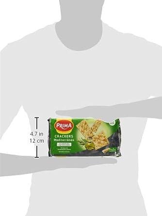 Prima Crackers - Paq. Mediterraneo 200 g: Amazon.es: Alimentación y bebidas