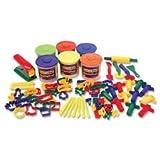 Classic Dough/Tool Box Assortment, 84 Piece, Multi Color, Sold as 1 Set, 84 Each per Set